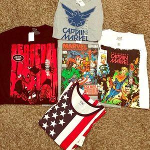 5 Men's T-Shirt Bundle